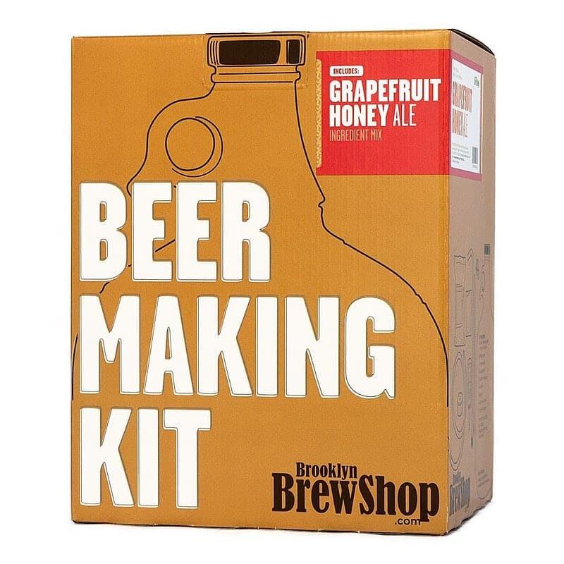 Brooklyn Brew Grapefruit Honey Ale by Brooklyn Brew Shop