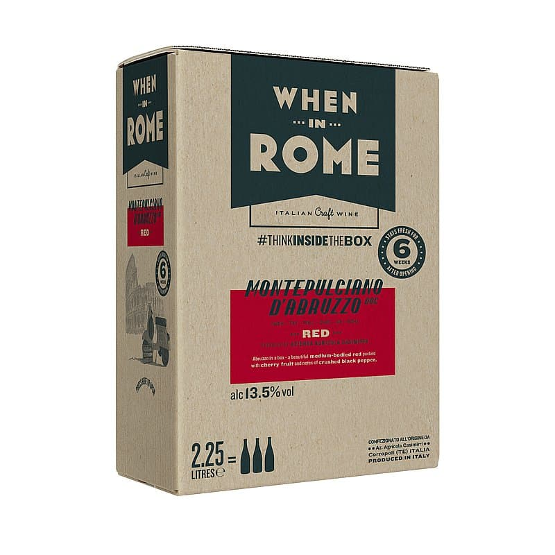 Ecotricity Montepulciano Box by When in Rome X Ecotricty