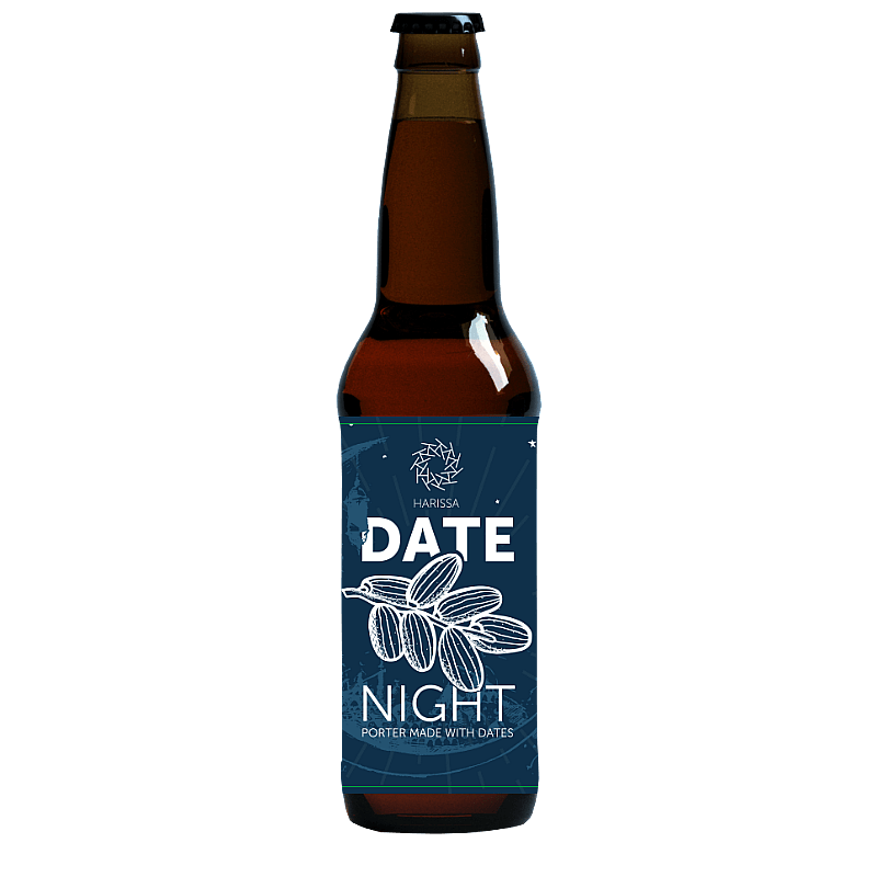 Hadrian Border Date Night Date Porter by Hadrian Border Brewery