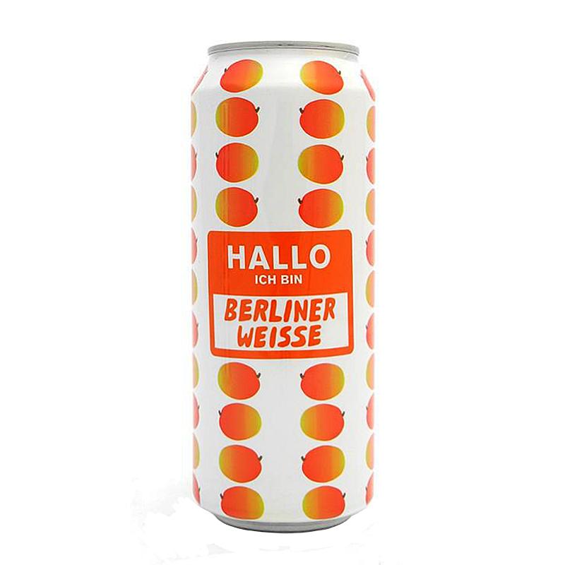 Hallo, Ich Bin Berliner Weisse Mango by Mikkeller