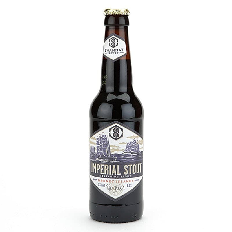 Swannay Imperial Stout by Swannay Brewery