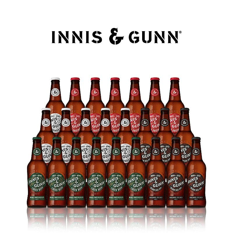 Innis & Gunn 24 Mixed Bottles Offer by Innis & Gunn