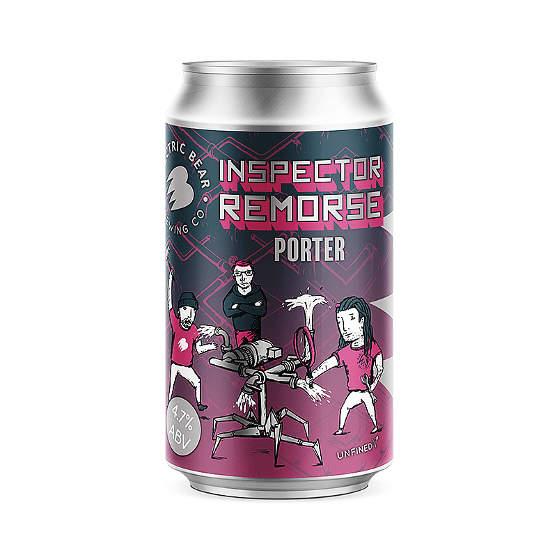 Inspector Remorse by Electric Bear Brewing Co.