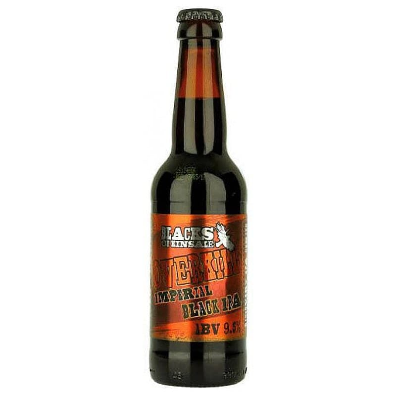 Overkill Imperial Black IPA by Blacks of Kinsale