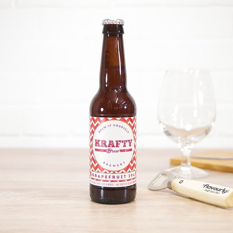 Grapefruit IPA by Krafty Brew