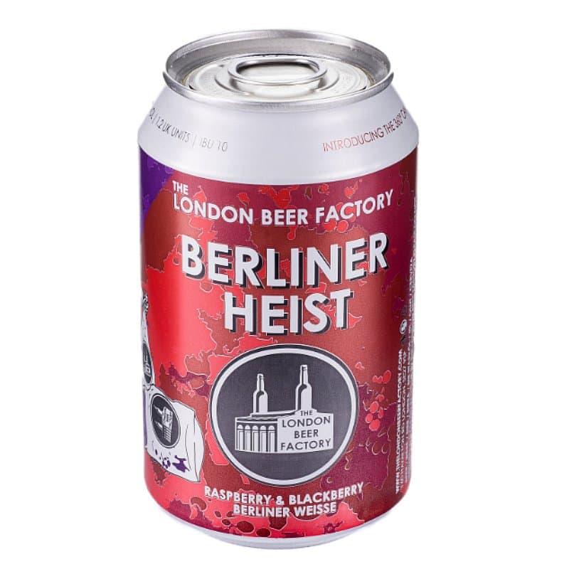 London Beer Factory Berliner Heist Berliner Weisse by The London Beer Factory