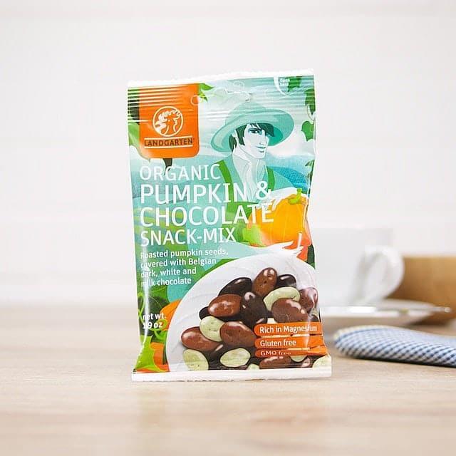 Pumpkin & Chocolate Snack Mix by Landgarten