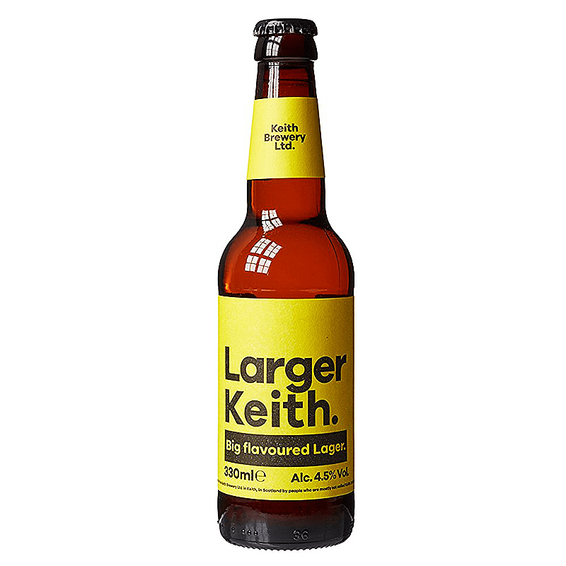 Larger Keith by Keith Brewery Ltd