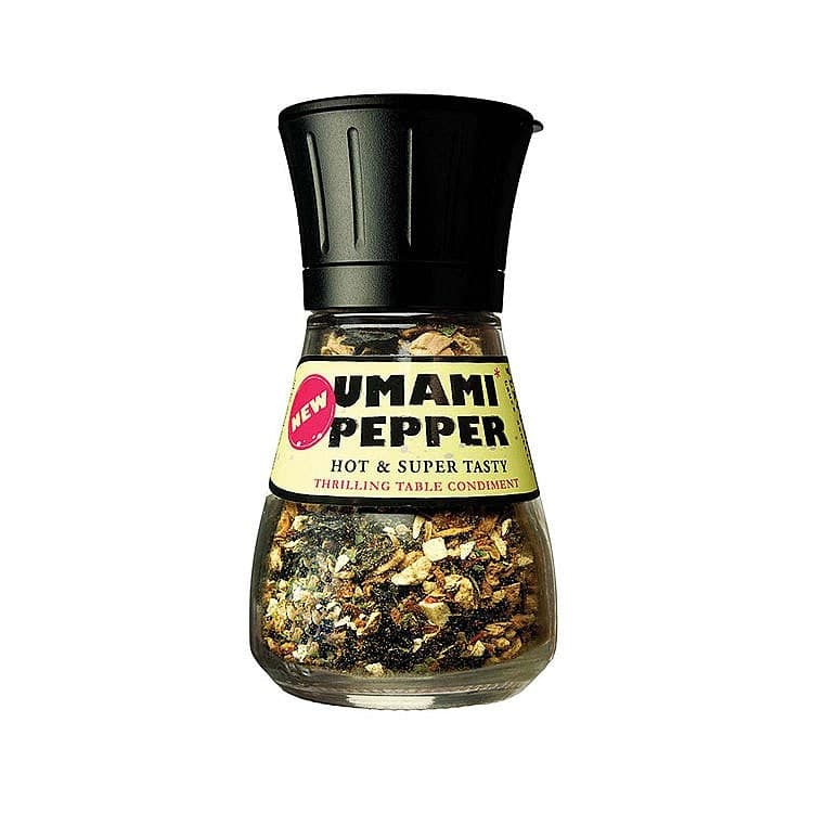 Umami Pepper with Grinder by Laura Santtini