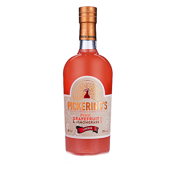 Pink Grapefruit and Lemongrass Gin Liqueur by Pickering's Gin