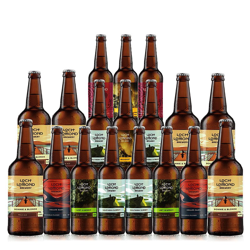 Mixed 18 Case by Loch Lomond Brewery