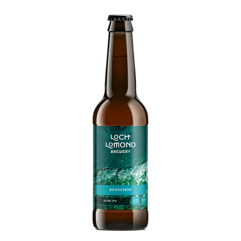 Bravehop Dark 6 Case by Loch Lomond Brewery