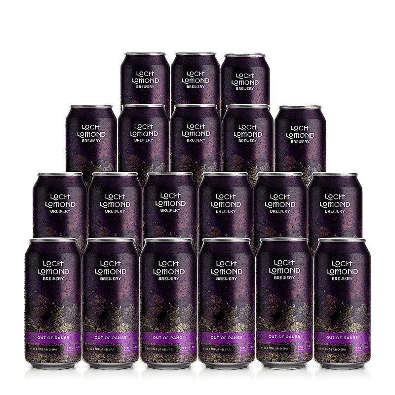Out Of Range 20 Case by Loch Lomond Brewery