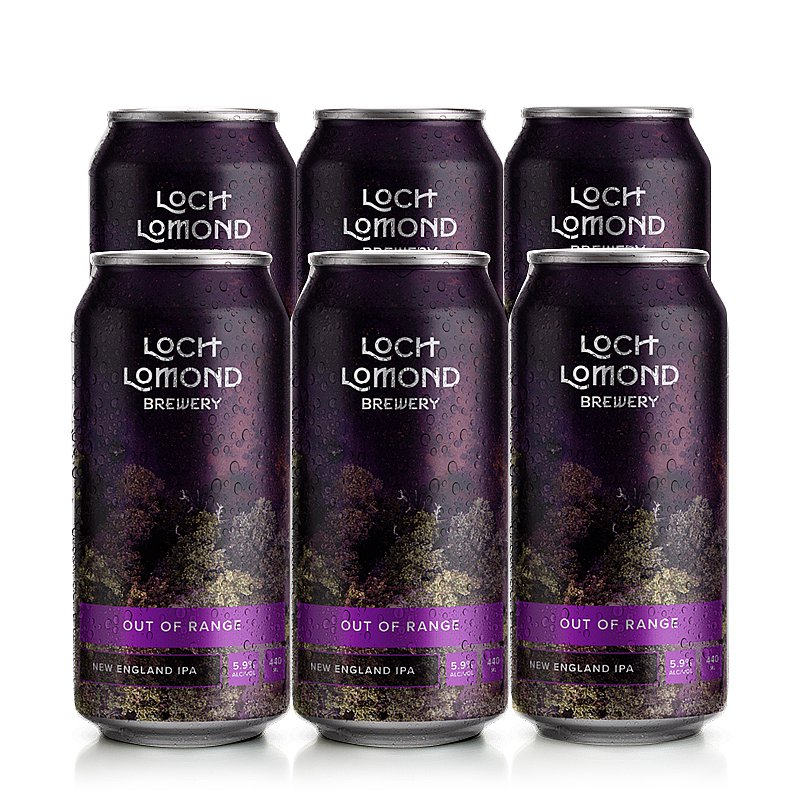 Out Of Range 6 Case by Loch Lomond Brewery
