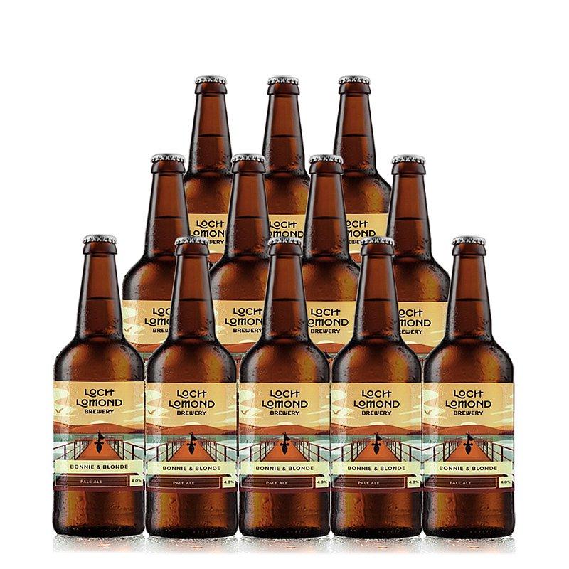 Bonnie N Blonde 12 Case by Loch Lomond Brewery
