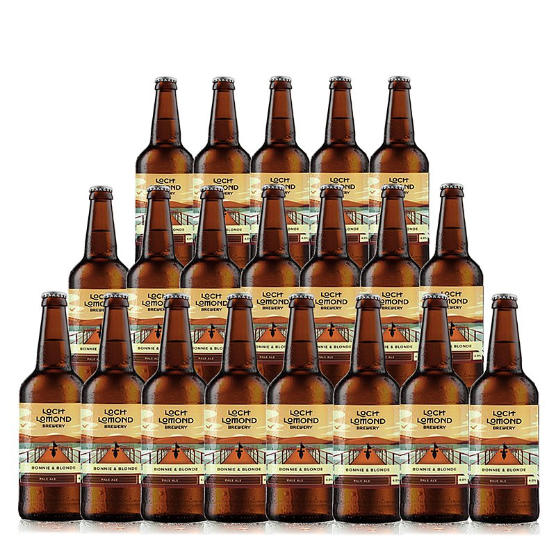 Bonnie N Blonde 20 Case by Loch Lomond Brewery