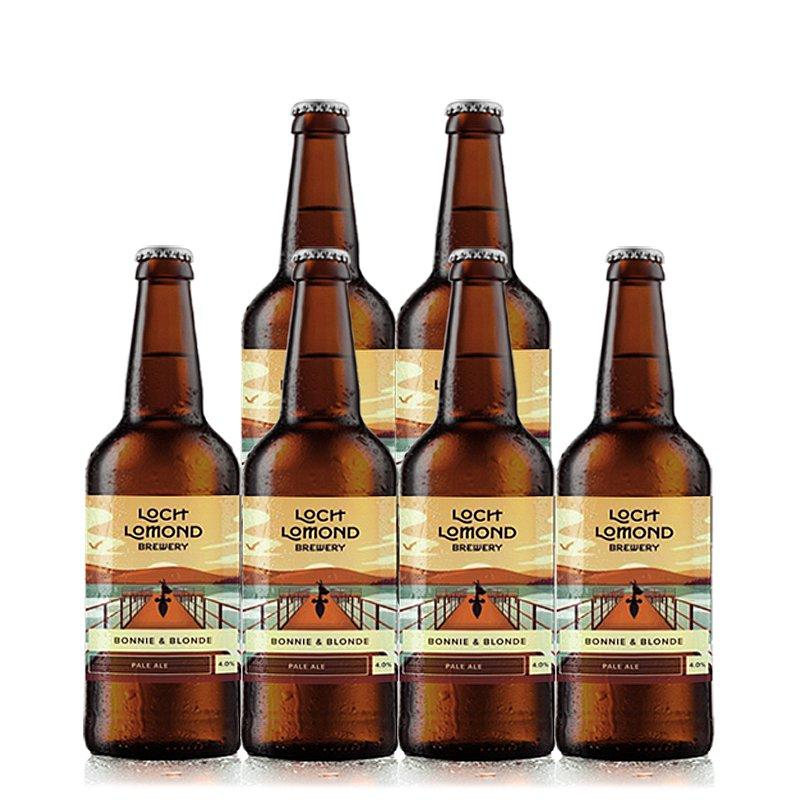 Bonnie N Blonde 6 Case by Loch Lomond Brewery