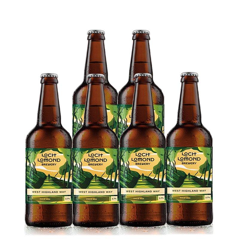 West Highland Way 6 Case by Loch Lomond Brewery