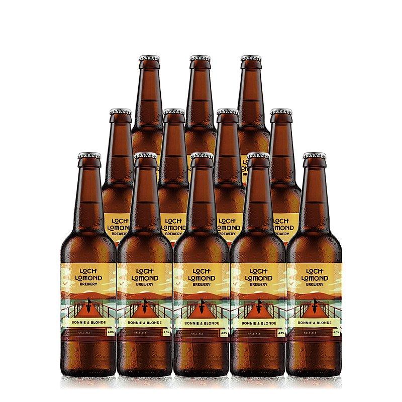 Bonnie & Blonde 12 Case by Loch Lomond Brewery