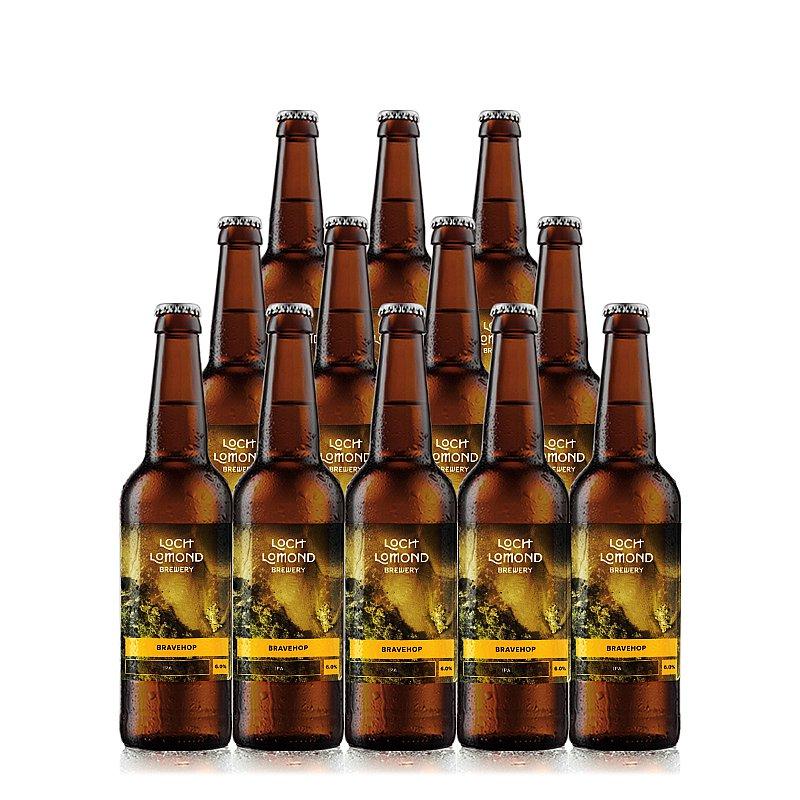 Bravehop 12 Case by Loch Lomond Brewery