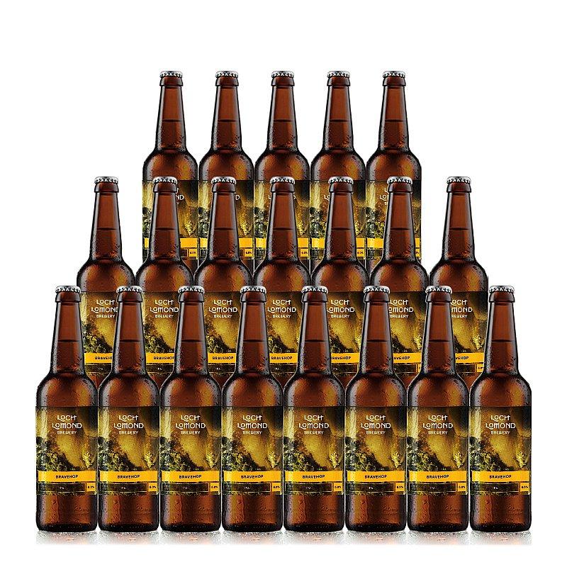 Bravehop 20 Case by Loch Lomond Brewery