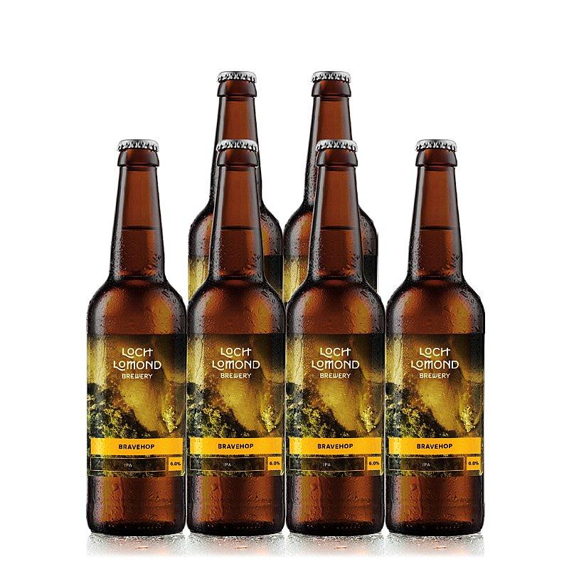 Bravehop 6 Case by Loch Lomond Brewery