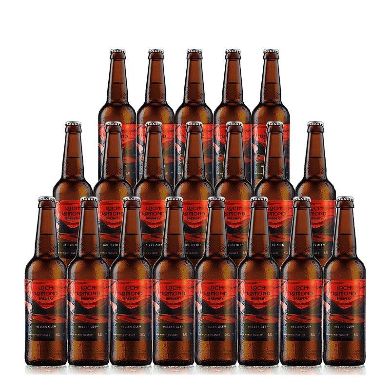 Helles Glen 20 Case by Loch Lomond Brewery