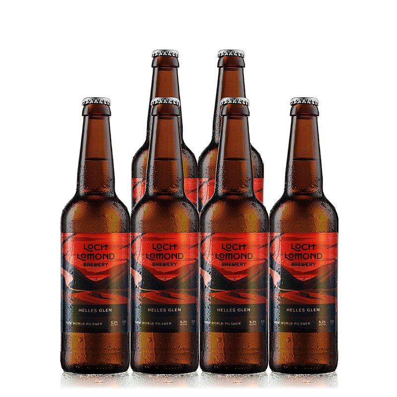 Helles Glen 6 Case by Loch Lomond Brewery
