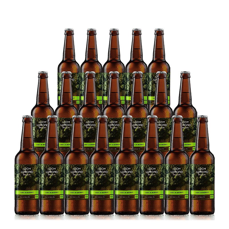 Lost In Mosaic 20 Case by Loch Lomond Brewery