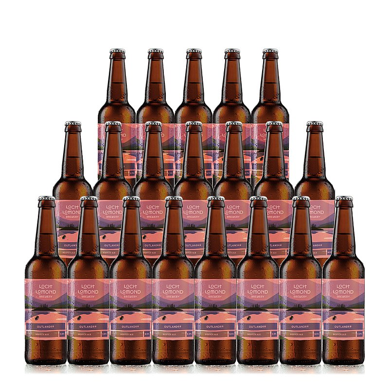 Outlander 20 Case by Loch Lomond Brewery