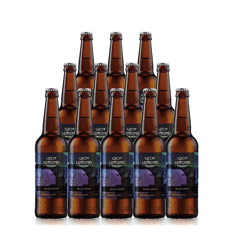 Silkie Stout 12 Case by Loch Lomond Brewery