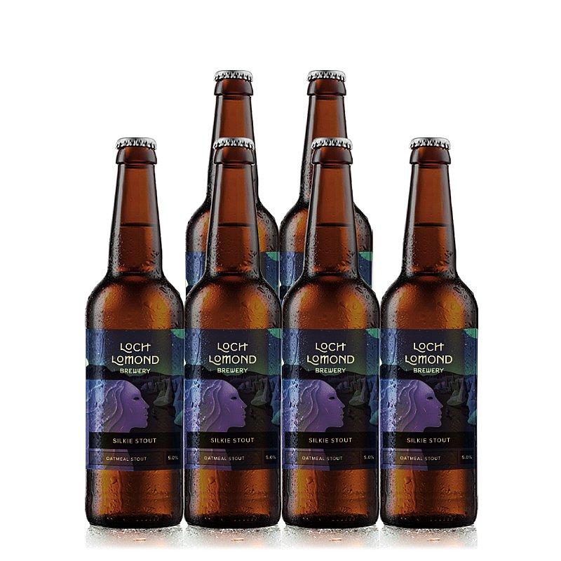 Silkie Stout 6 Case by Loch Lomond Brewery