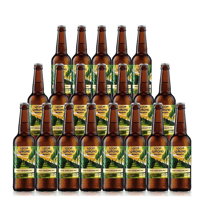 West Highland Way 20 Case by Loch Lomond Brewery