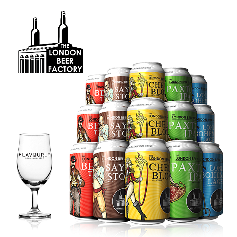 The London Beer Factory Core Collection by The London Beer Factory