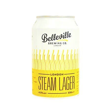 London Steam Lager by Belleville Brewing Co.