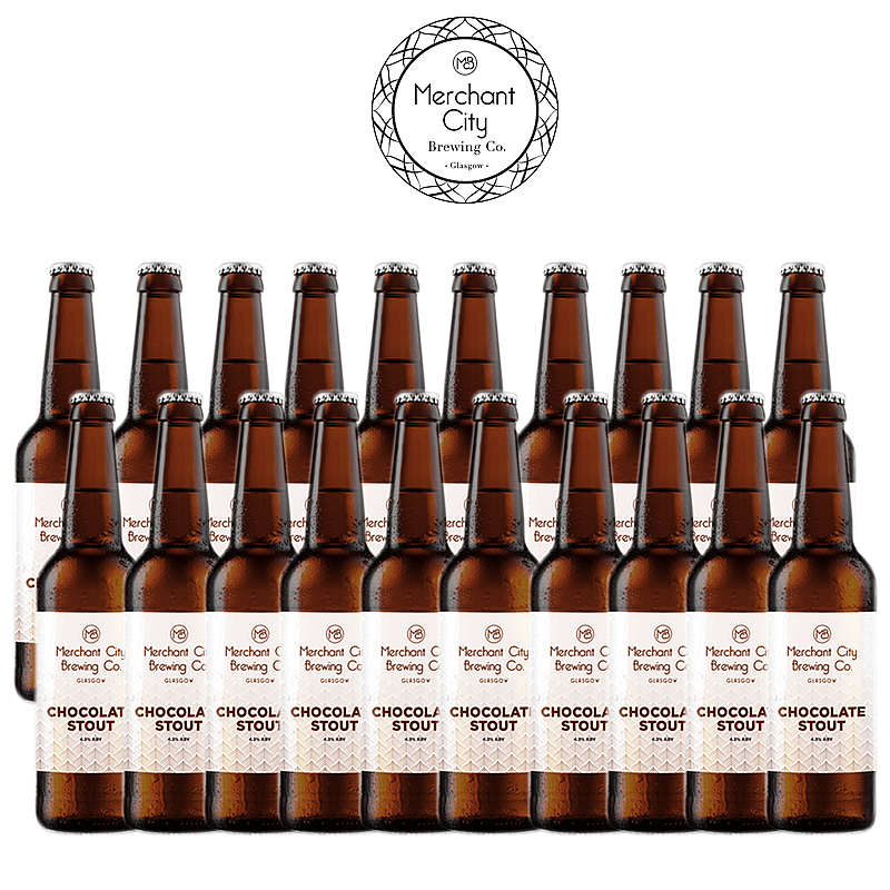 Chocolate Stout 20 Case by Merchant City Brewing