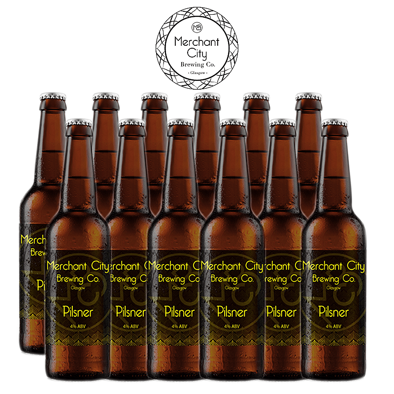 Pilsner 12 Case by Merchant City Brewing