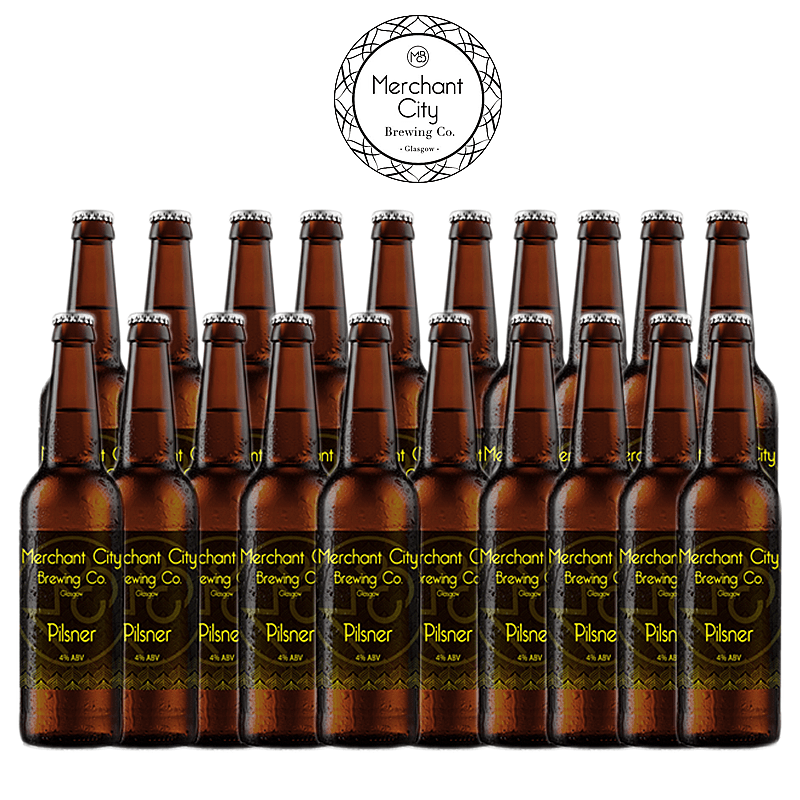 Pilsner 20 Case by Merchant City Brewing