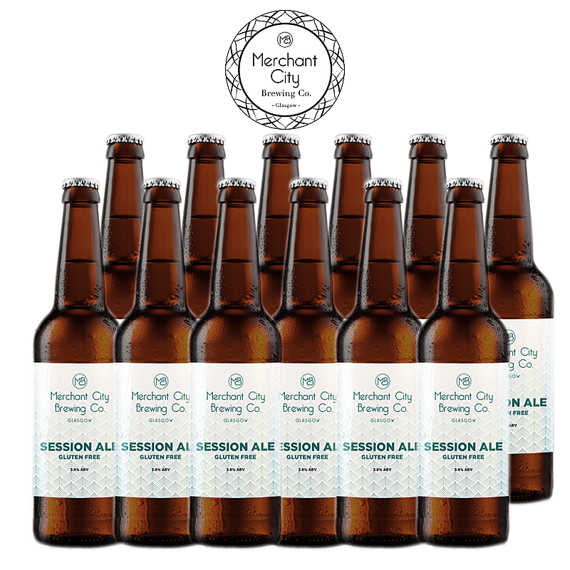 Session Ale 12 Case by Merchant City Brewing