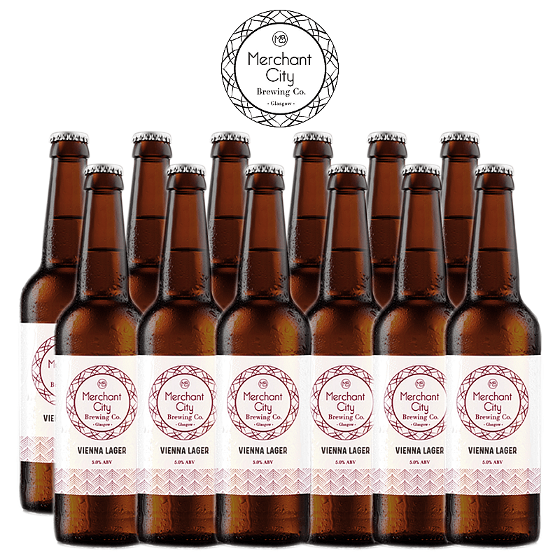 Vienna Lager 12 Case by Merchant City Brewing