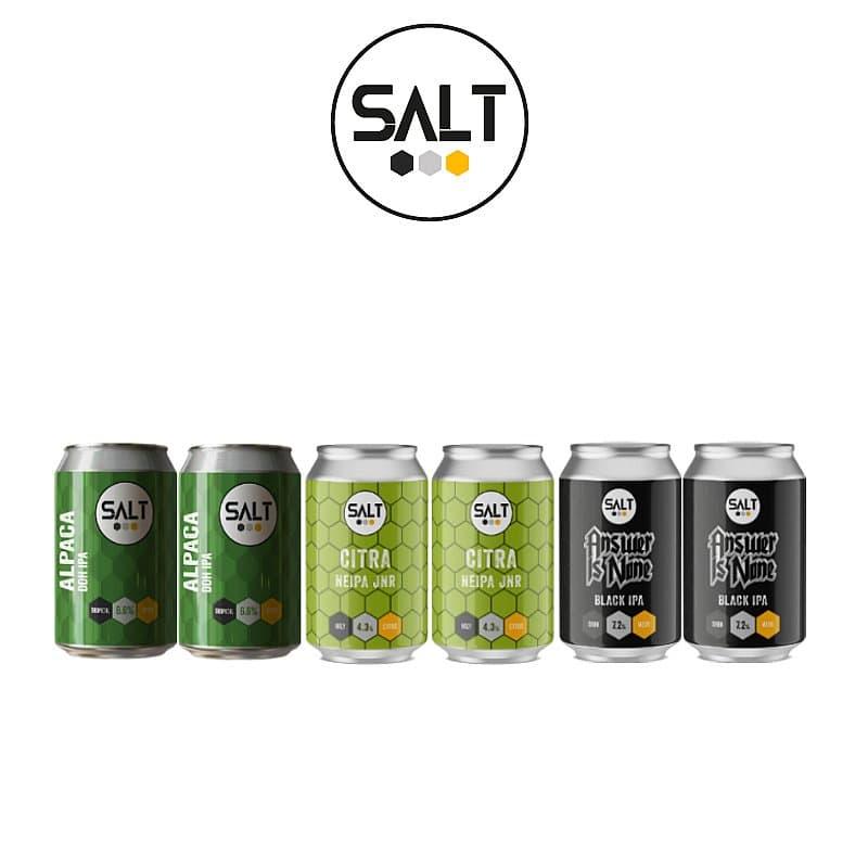 Salt Mixed 6 Case by Salt Beer Factory