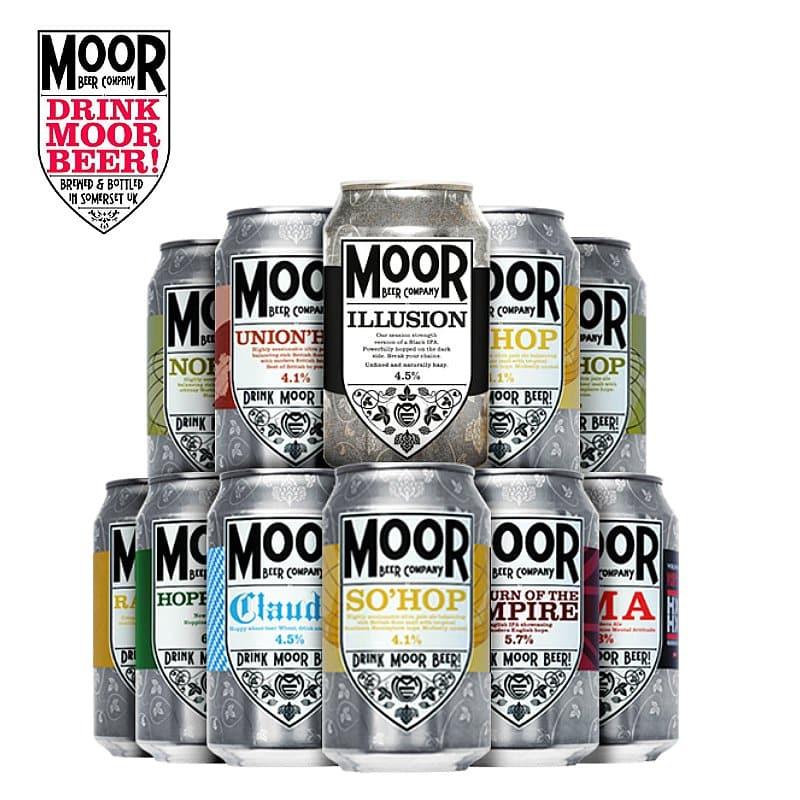 The Moor Beer Collection by Moor Beer
