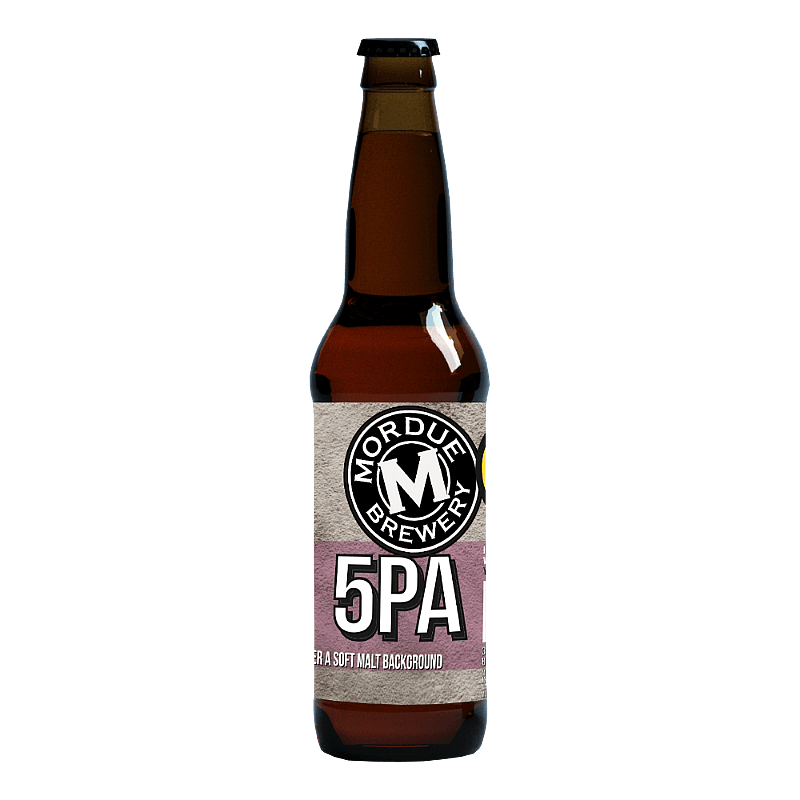 5PA by Mordue Brewery
