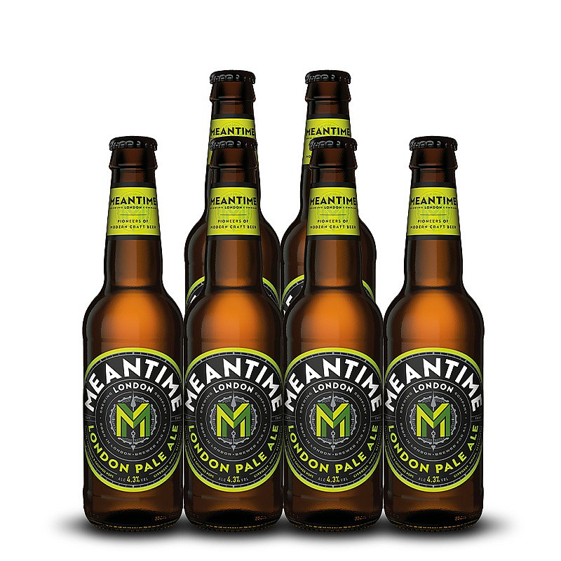 London Pale Ale Bottles by Meantime Brewing