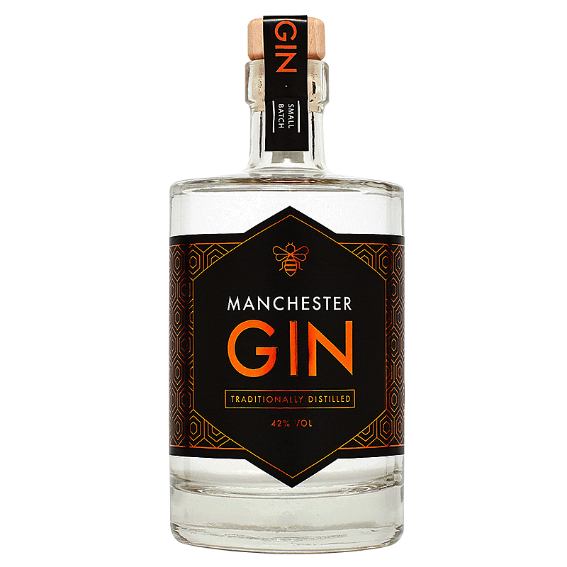 Manchester Gin Traditionally Distilled by Manchester Gin