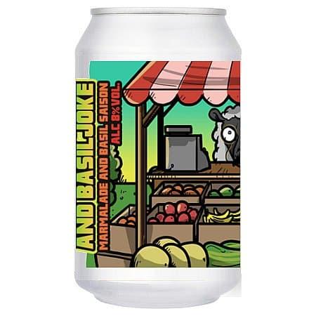 Marmalade & Basil Joke Saison by Wild Weather Ales