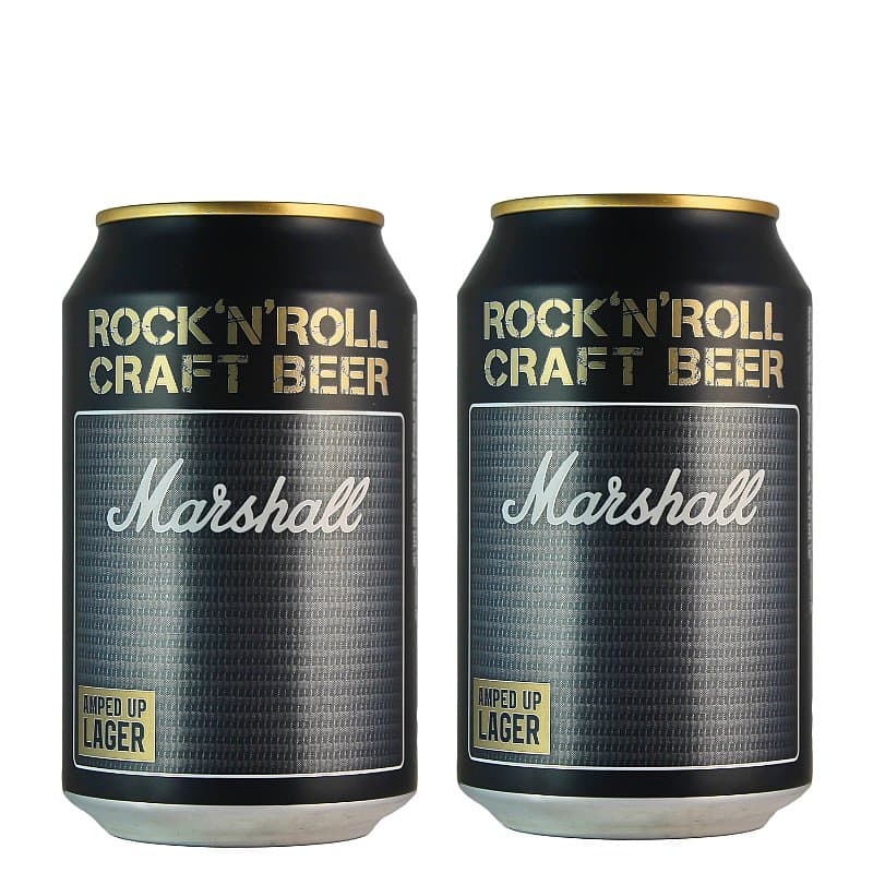 Amped up Lager Twin Pack by Marshall X Williams Brothers