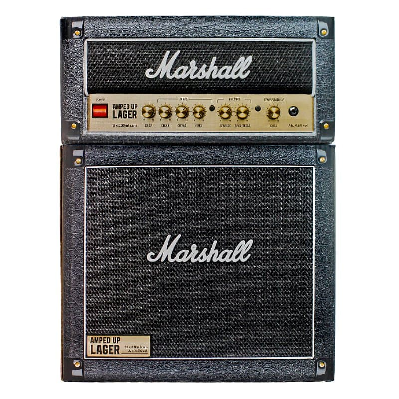 Rock 'N' Roll 24 Can Case by Marshall X Williams Brothers