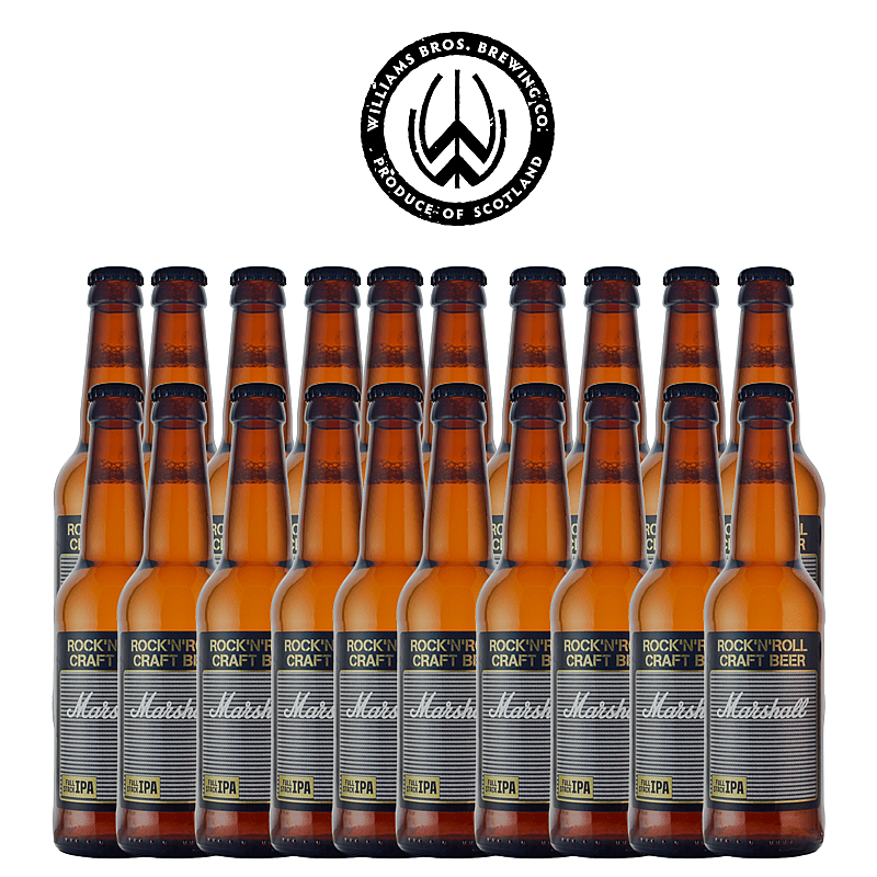 Full Stack IPA by Marshall X Williams Brothers