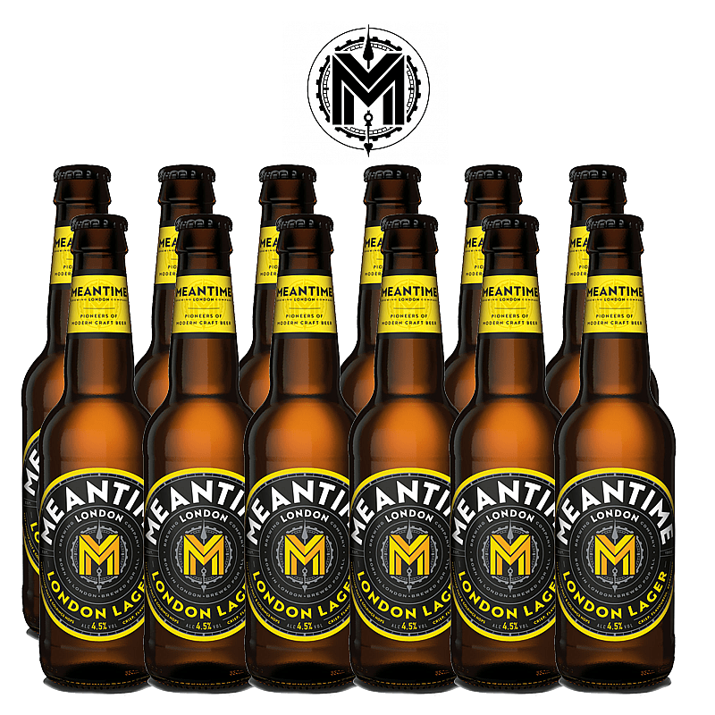 London Lager 12 Case Bottle by Meantime Brewing